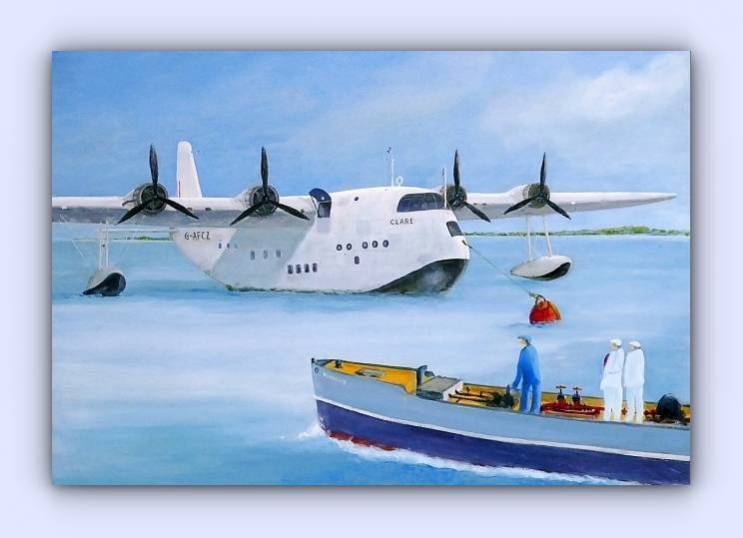 Coastal craft Mexshell II (oil on canvas)